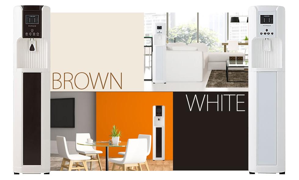 カラーバリエーション ホワイト&ブラウン